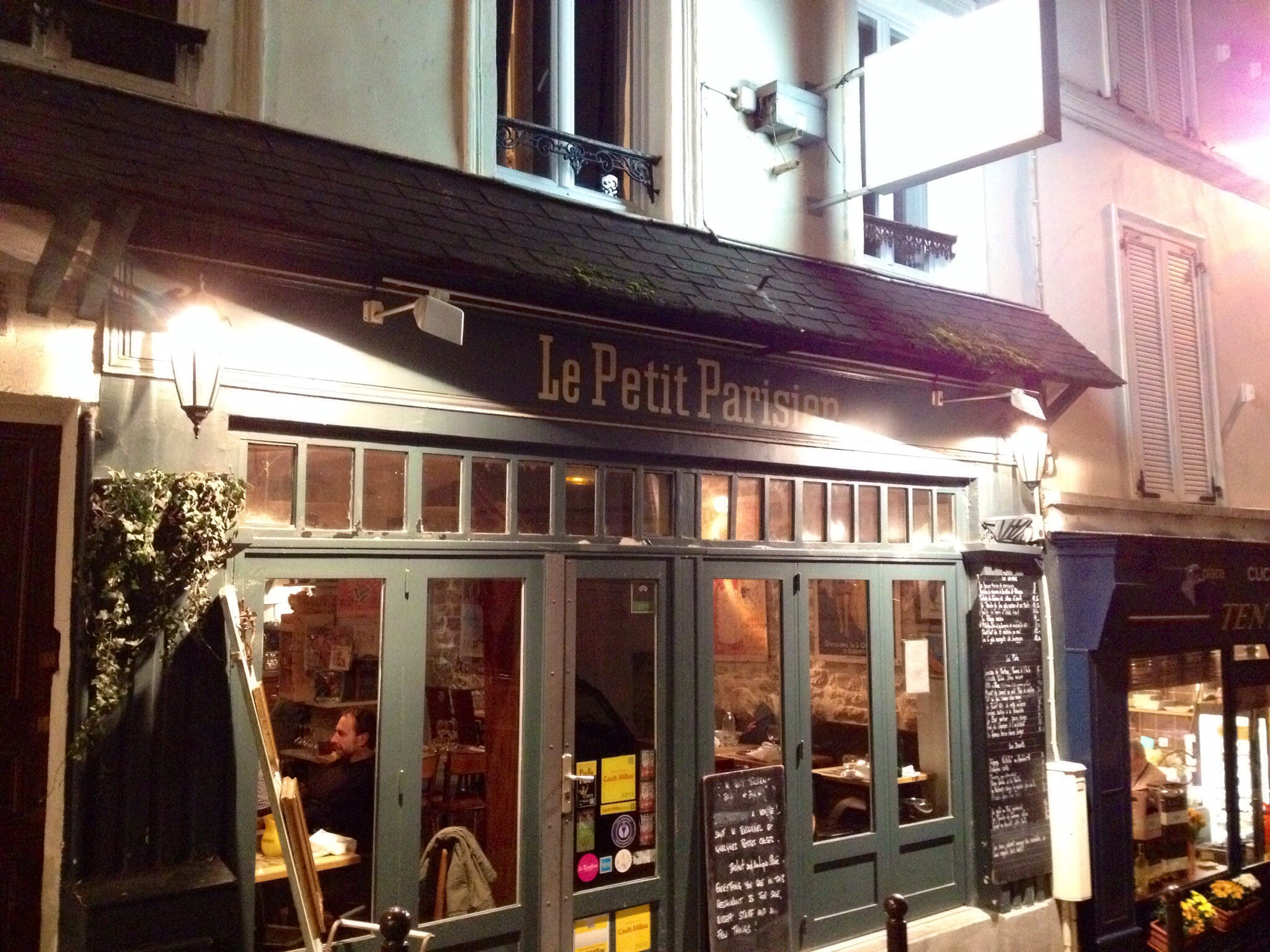 Le Petit Parisien, Montmartre, Paris (Did You Guess?)
